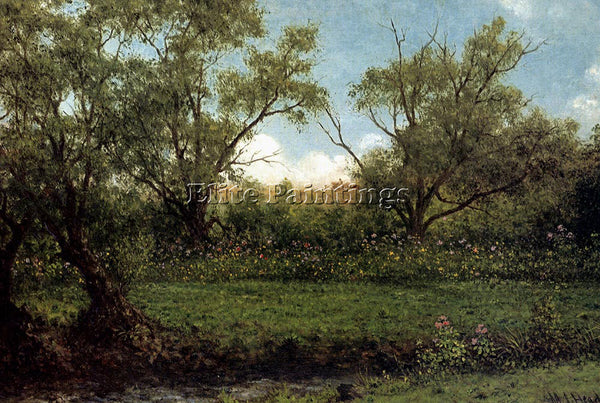 MARTIN JOHNSON HEADE BROOKSIDE ARTIST PAINTING REPRODUCTION HANDMADE OIL CANVAS