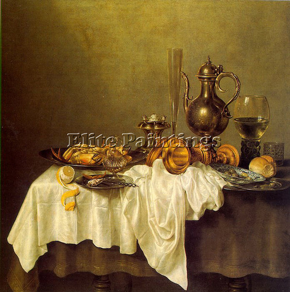 DUTCH HEDA WILLEM CLAESZ DUTCH APPROX 1594 1682 HEDA1 ARTIST PAINTING HANDMADE