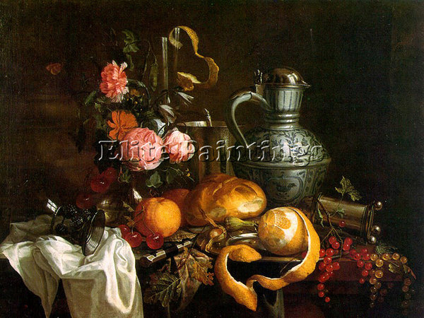 DUTCH HEEM JAN DAVIDZ DE DUTCH APPROX 1606 1684 HEEM5 ARTIST PAINTING HANDMADE