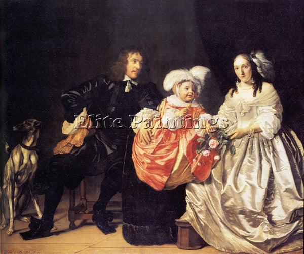 BARTHOLOMEUS VAN DER HELST HELST 52FAMILY ARTIST PAINTING REPRODUCTION HANDMADE