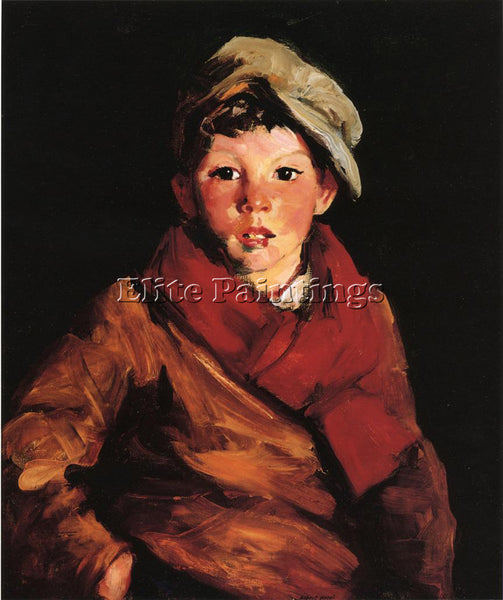 ROBERT HENRI CAFFERTY ARTIST PAINTING REPRODUCTION HANDMADE OIL CANVAS REPRO ART