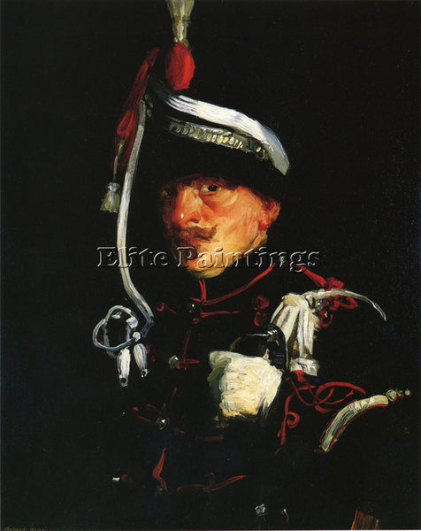 ROBERT HENRI DUTCH SOLDIER ARTIST PAINTING REPRODUCTION HANDMADE OIL CANVAS DECO