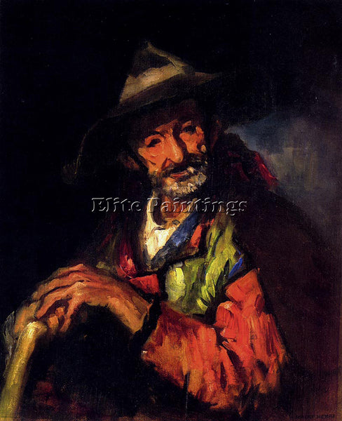 ROBERT HENRI EL SEGOVIANO ARTIST PAINTING REPRODUCTION HANDMADE OIL CANVAS REPRO