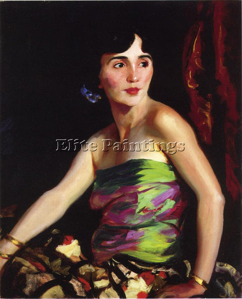 ROBERT HENRI ISOLINA MALDONADO SPANISH DANCER ARTIST PAINTING REPRODUCTION OIL