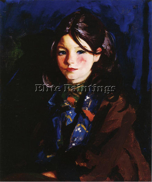 ROBERT HENRI LETECIA ARTIST PAINTING REPRODUCTION HANDMADE OIL CANVAS REPRO WALL