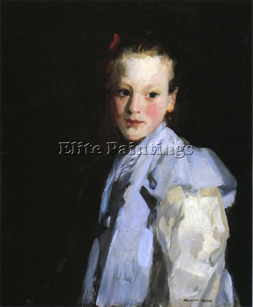 ROBERT HENRI MARTCHE ARTIST PAINTING REPRODUCTION HANDMADE OIL CANVAS REPRO WALL