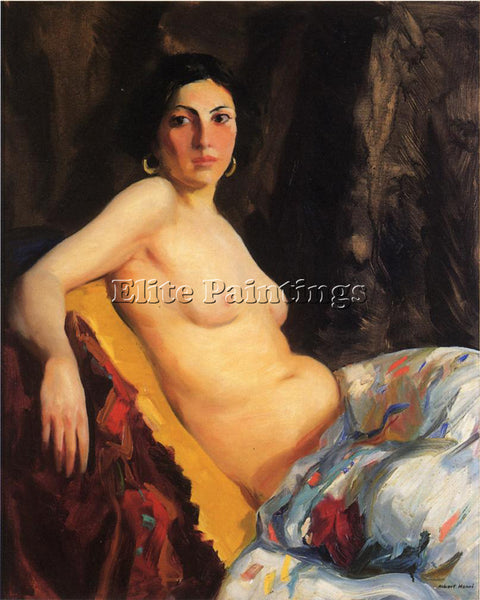 ROBERT HENRI ORIENTALE ARTIST PAINTING REPRODUCTION HANDMADE CANVAS REPRO WALL