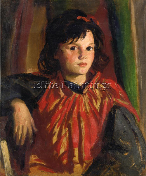 ROBERT HENRI PEGEEN ARTIST PAINTING REPRODUCTION HANDMADE CANVAS REPRO WALL DECO