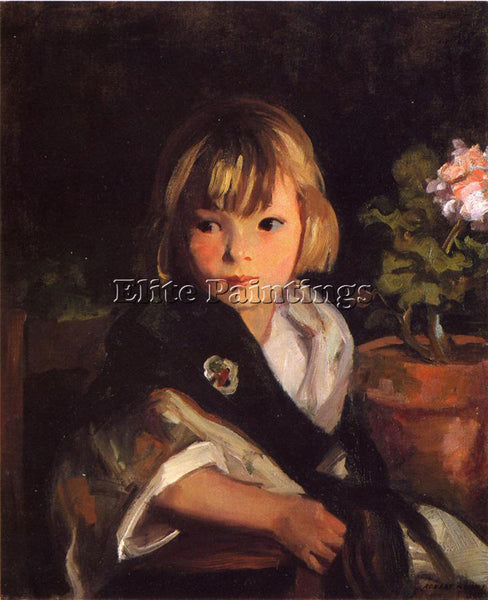 ROBERT HENRI PORTRAIT OF BOBY ARTIST PAINTING REPRODUCTION HANDMADE CANVAS REPRO