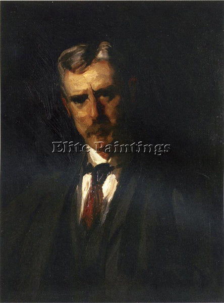 ROBERT HENRI PORTRAIT OF THOMAS ANSCHUTZ ARTIST PAINTING REPRODUCTION HANDMADE