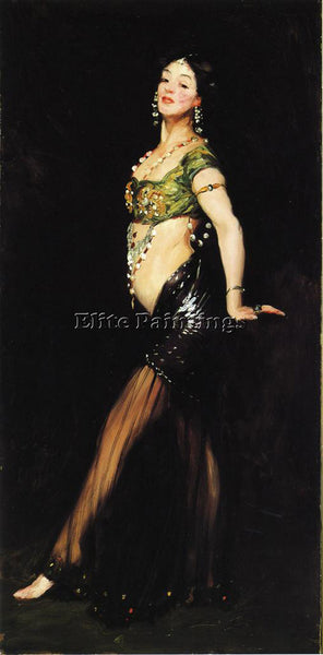 ROBERT HENRI SALOME ARTIST PAINTING REPRODUCTION HANDMADE CANVAS REPRO WALL DECO