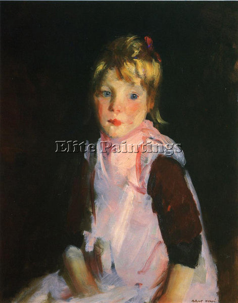 ROBERT HENRI SIS ARTIST PAINTING REPRODUCTION HANDMADE OIL CANVAS REPRO WALL ART