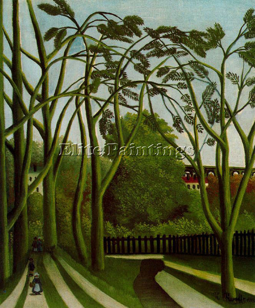 HENRI ROUSSEAU ROUSS37 ARTIST PAINTING REPRODUCTION HANDMADE CANVAS REPRO WALL