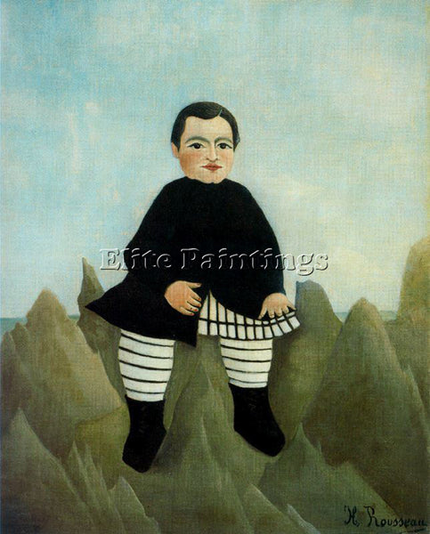 HENRI ROUSSEAU ROUSS40 ARTIST PAINTING REPRODUCTION HANDMADE CANVAS REPRO WALL