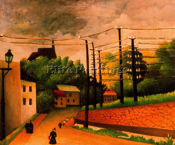 HENRI ROUSSEAU ROUSS44 ARTIST PAINTING REPRODUCTION HANDMADE CANVAS REPRO WALL