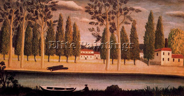 HENRI ROUSSEAU ROUSS46 ARTIST PAINTING REPRODUCTION HANDMADE CANVAS REPRO WALL