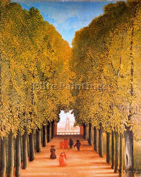 HENRI ROUSSEAU ROUSS48 ARTIST PAINTING REPRODUCTION HANDMADE CANVAS REPRO WALL