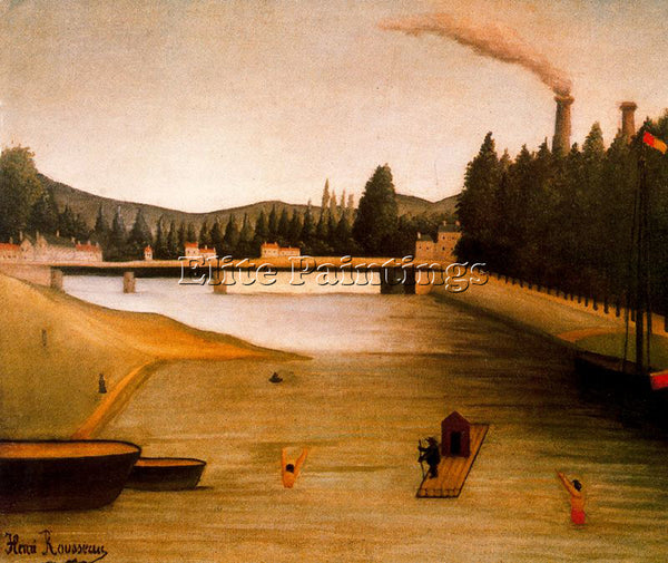 HENRI ROUSSEAU ROUSS51 ARTIST PAINTING REPRODUCTION HANDMADE CANVAS REPRO WALL