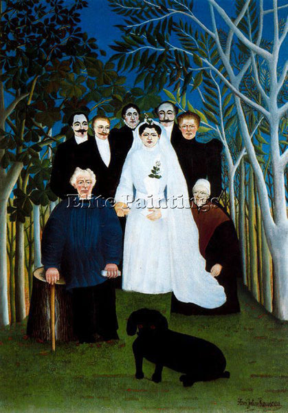 HENRI ROUSSEAU ROUSS56 ARTIST PAINTING REPRODUCTION HANDMADE CANVAS REPRO WALL