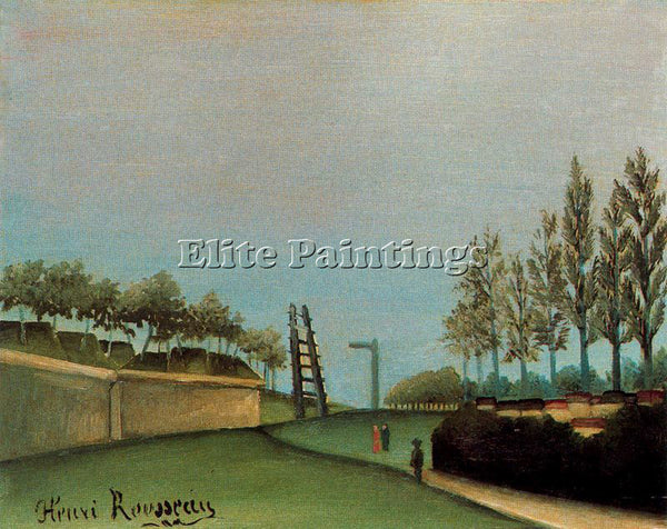 HENRI ROUSSEAU ROUSS58 ARTIST PAINTING REPRODUCTION HANDMADE CANVAS REPRO WALL