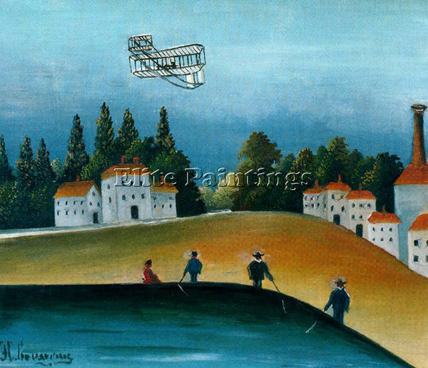 HENRI ROUSSEAU ROUSS62 ARTIST PAINTING REPRODUCTION HANDMADE CANVAS REPRO WALL