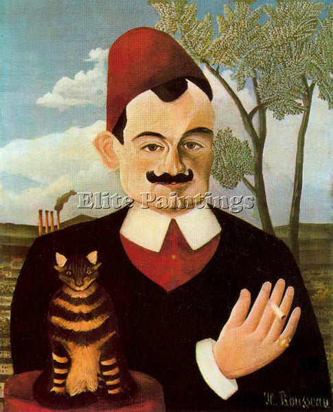 HENRI ROUSSEAU ROUSS63 ARTIST PAINTING REPRODUCTION HANDMADE CANVAS REPRO WALL