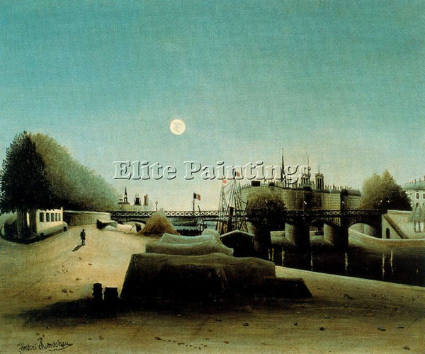 HENRI ROUSSEAU ROUSS66 ARTIST PAINTING REPRODUCTION HANDMADE CANVAS REPRO WALL