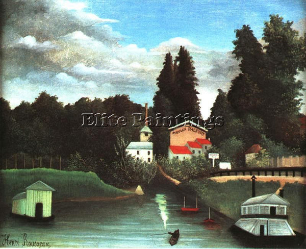 HENRI ROUSSEAU ROUSS67 ARTIST PAINTING REPRODUCTION HANDMADE CANVAS REPRO WALL