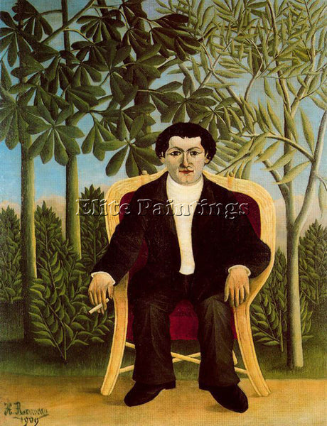 HENRI ROUSSEAU ROUSS76 ARTIST PAINTING REPRODUCTION HANDMADE CANVAS REPRO WALL