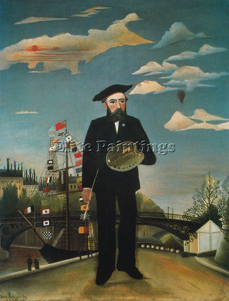 HENRI ROUSSEAU ROUSS80 ARTIST PAINTING REPRODUCTION HANDMADE CANVAS REPRO WALL