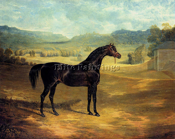 JOHN FREDERICK HERRING THE BAY STALLION JACK SPIGOT ARTIST PAINTING REPRODUCTION
