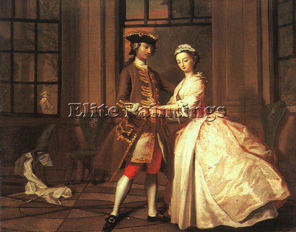 BRITISH HIGHMORE JOSEPH ENGLISH 1692 1780 ARTIST PAINTING REPRODUCTION HANDMADE