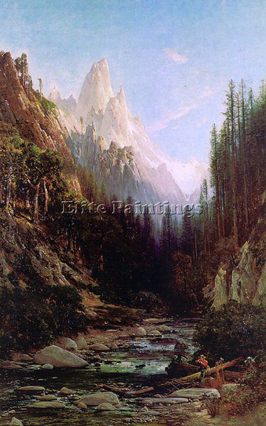 AMERICAN HILL THOMAS AMERICAN 1829 1908 4 ARTIST PAINTING REPRODUCTION HANDMADE