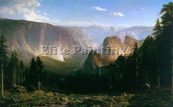 AMERICAN HILL THOMAS AMERICAN 1829 1908 ARTIST PAINTING REPRODUCTION HANDMADE
