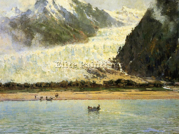 THOMAS HILL THE DAVIDSON GLACIER ARTIST PAINTING REPRODUCTION HANDMADE OIL REPRO