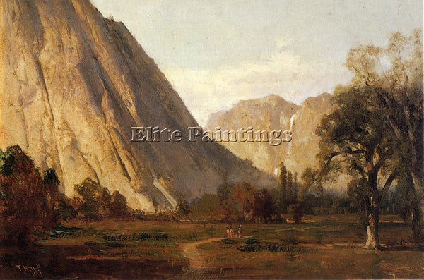 THOMAS HILL YOSEMITE2 ARTIST PAINTING REPRODUCTION HANDMADE OIL CANVAS REPRO ART