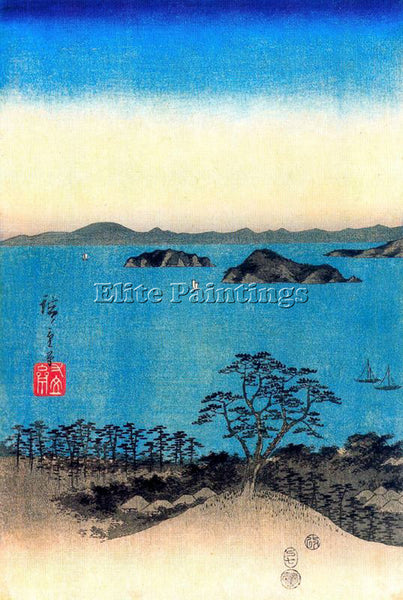 HIROSHIGE ANDO ANDO38 ARTIST PAINTING REPRODUCTION HANDMADE OIL CANVAS REPRO ART