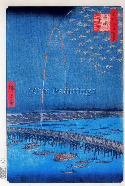 HIROSHIGE ANDO ANDO39 ARTIST PAINTING REPRODUCTION HANDMADE OIL CANVAS REPRO ART