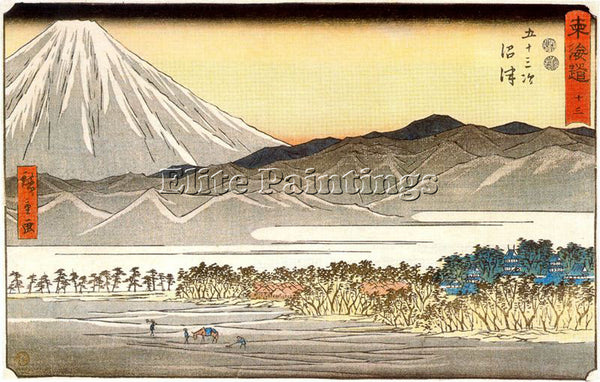 HIROSHIGE ANDO ANDO45 ARTIST PAINTING REPRODUCTION HANDMADE OIL CANVAS REPRO ART