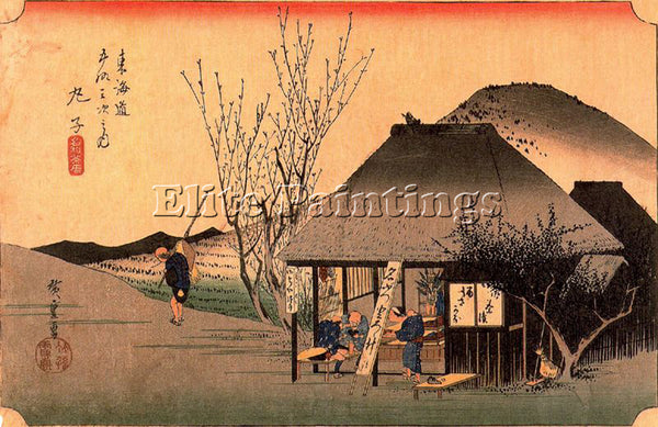 HIROSHIGE ANDO ANDO48 ARTIST PAINTING REPRODUCTION HANDMADE OIL CANVAS REPRO ART