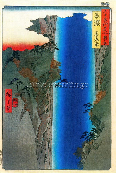 HIROSHIGE ANDO ANDO51 ARTIST PAINTING REPRODUCTION HANDMADE OIL CANVAS REPRO ART
