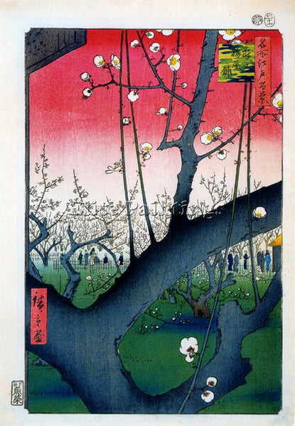 HIROSHIGE ANDO ANDO53 ARTIST PAINTING REPRODUCTION HANDMADE OIL CANVAS REPRO ART