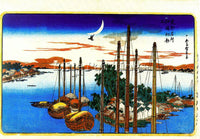 HIROSHIGE ANDO ANDO59 ARTIST PAINTING REPRODUCTION HANDMADE OIL CANVAS REPRO ART