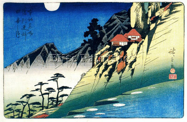 HIROSHIGE ANDO ANDO60 ARTIST PAINTING REPRODUCTION HANDMADE OIL CANVAS REPRO ART