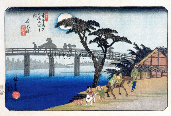 HIROSHIGE ANDO ANDO65 ARTIST PAINTING REPRODUCTION HANDMADE OIL CANVAS REPRO ART
