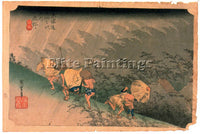 HIROSHIGE ANDO ANDO72 ARTIST PAINTING REPRODUCTION HANDMADE OIL CANVAS REPRO ART