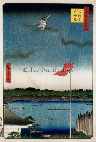 HIROSHIGE ANDO ANDO75 ARTIST PAINTING REPRODUCTION HANDMADE OIL CANVAS REPRO ART