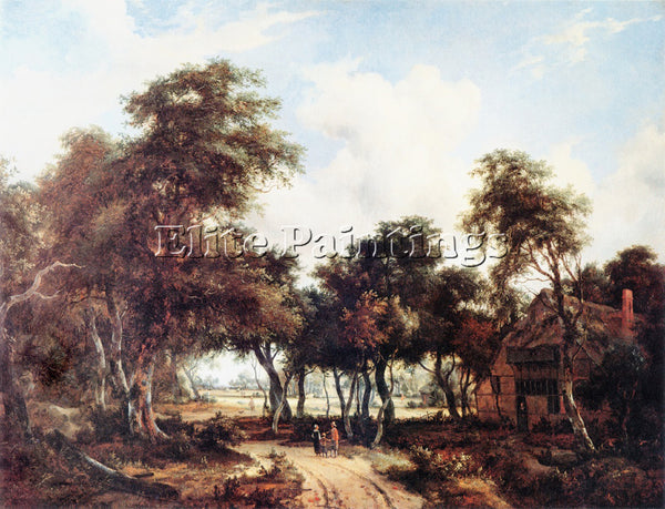 MEINDERT HOBBEMA HOBB2 ARTIST PAINTING REPRODUCTION HANDMADE CANVAS REPRO WALL