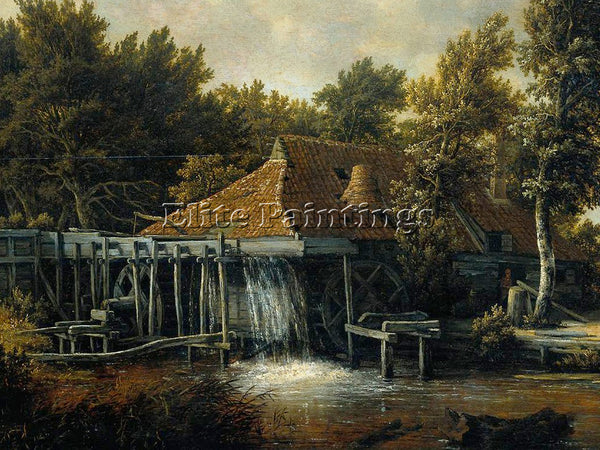 MEINDERT HOBBEMA HOBB3 ARTIST PAINTING REPRODUCTION HANDMADE CANVAS REPRO WALL