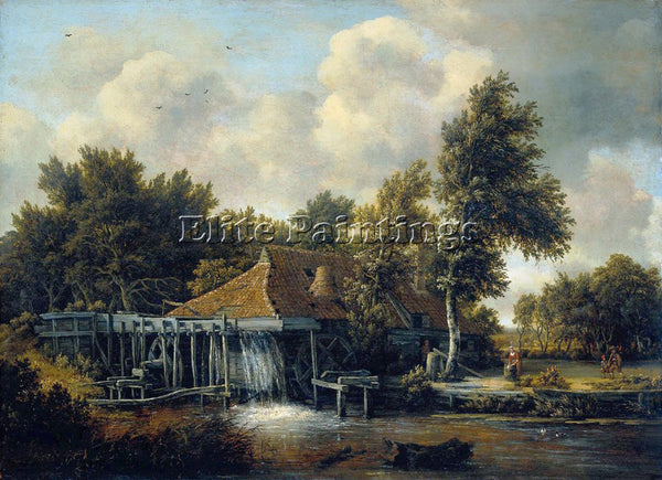MEINDERT HOBBEMA HOBB4 ARTIST PAINTING REPRODUCTION HANDMADE CANVAS REPRO WALL